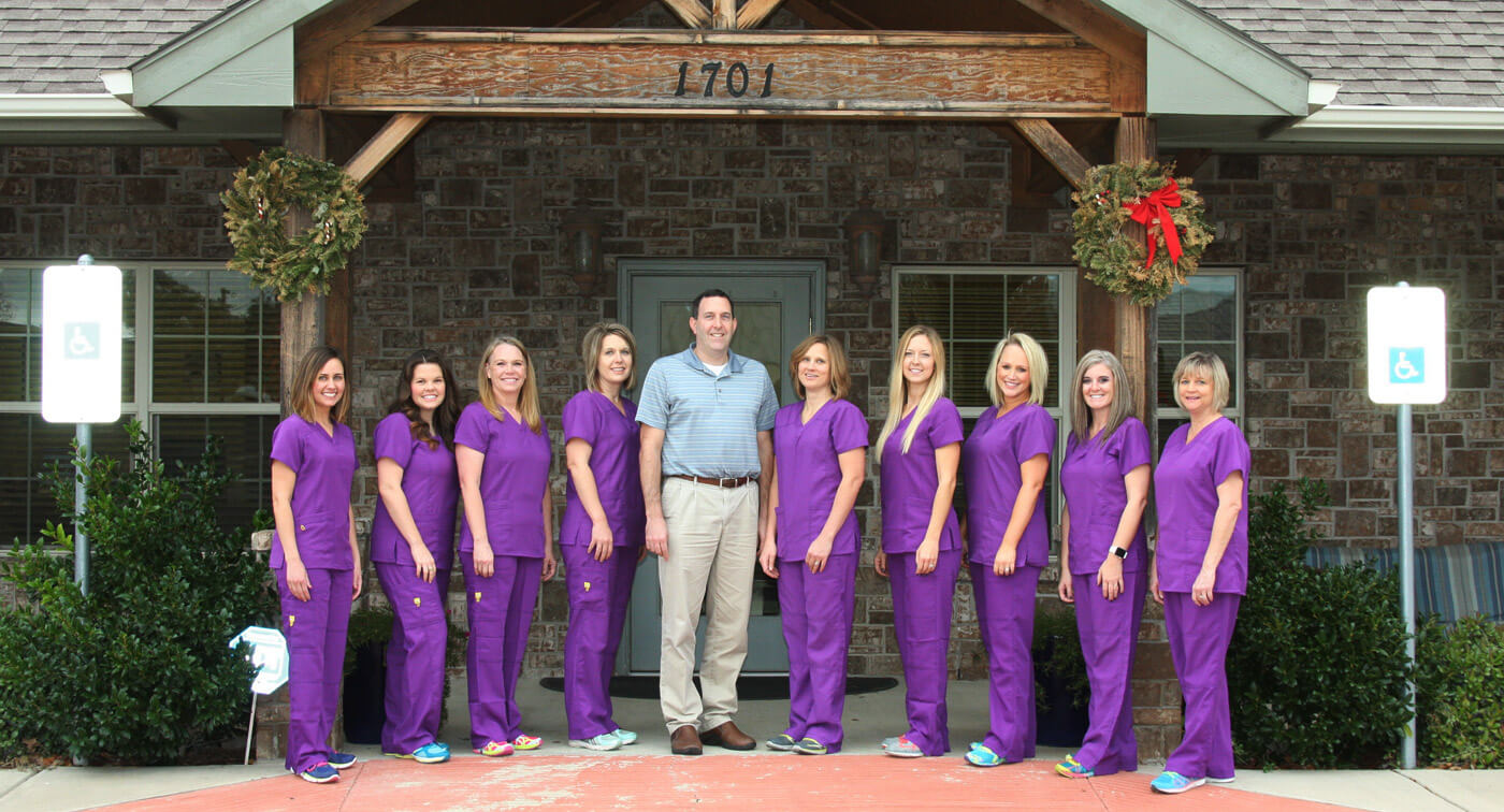 Dr. Wendy Winarick and her dental team